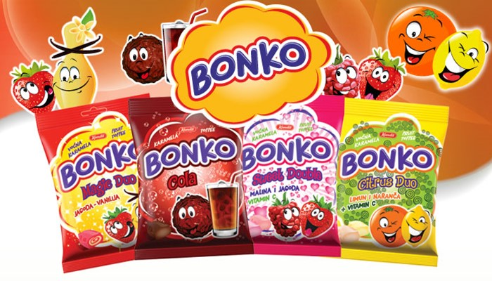 New Bonko Fruit Toffees