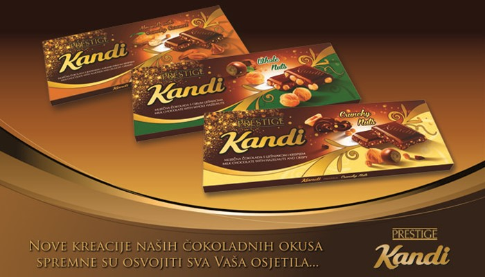 New Kandi Prestige chocolates