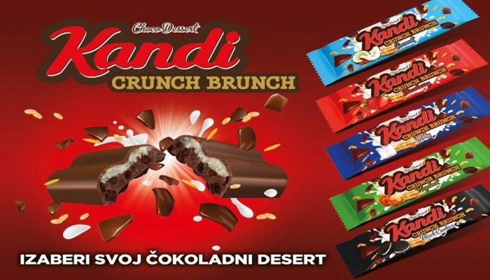 New crunchy delight - Kandi Crunch Brunch