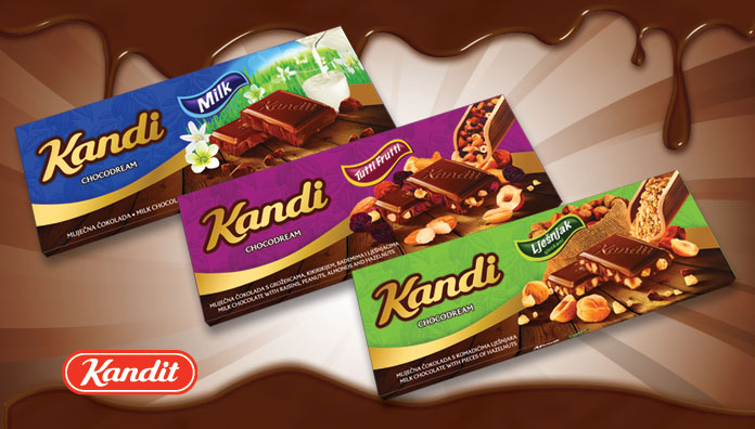 KANDI CHOCODREAM CHOCOLATE