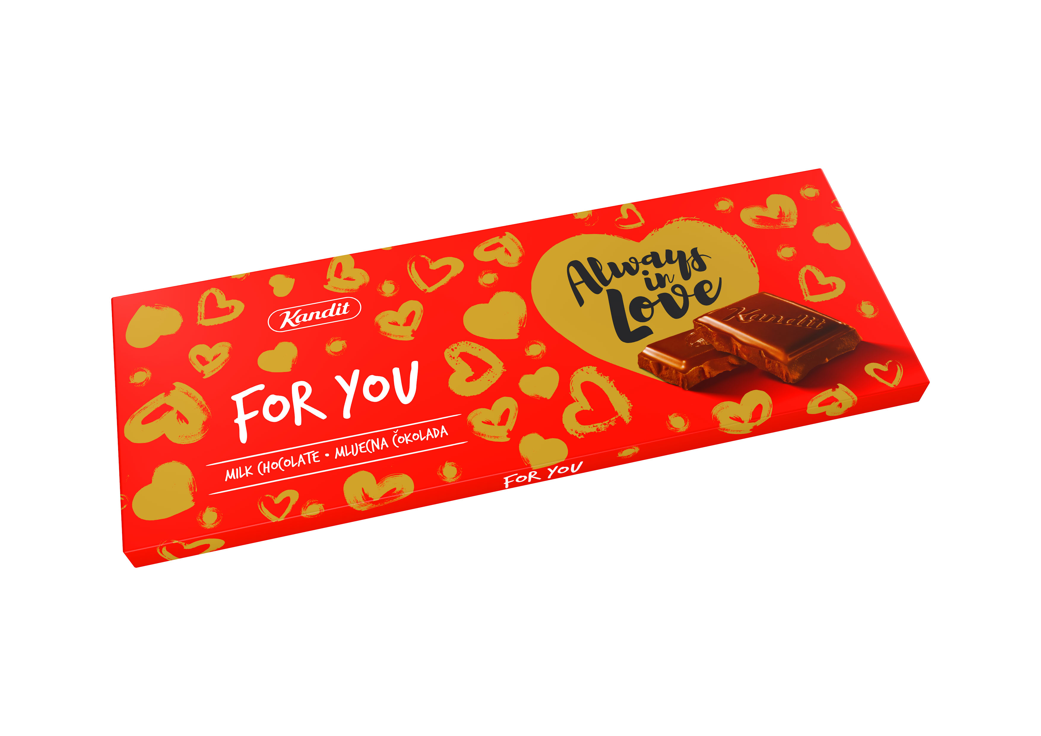 "Čokolada ""For you"" 220 g"