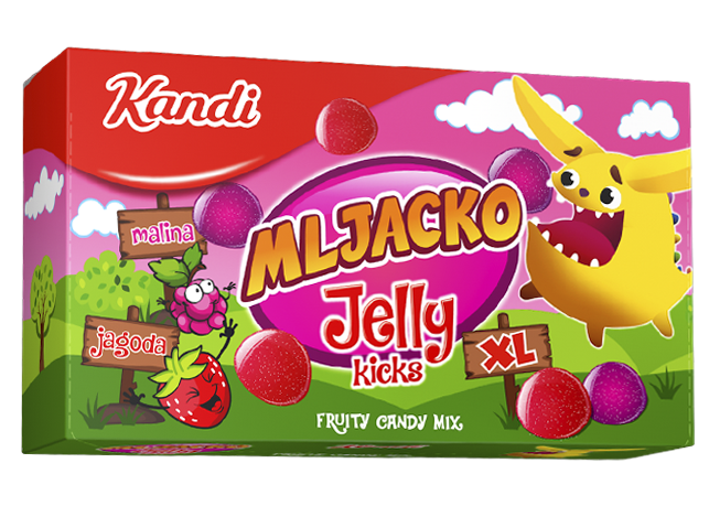 Mljacko Jelly Kicks 320g