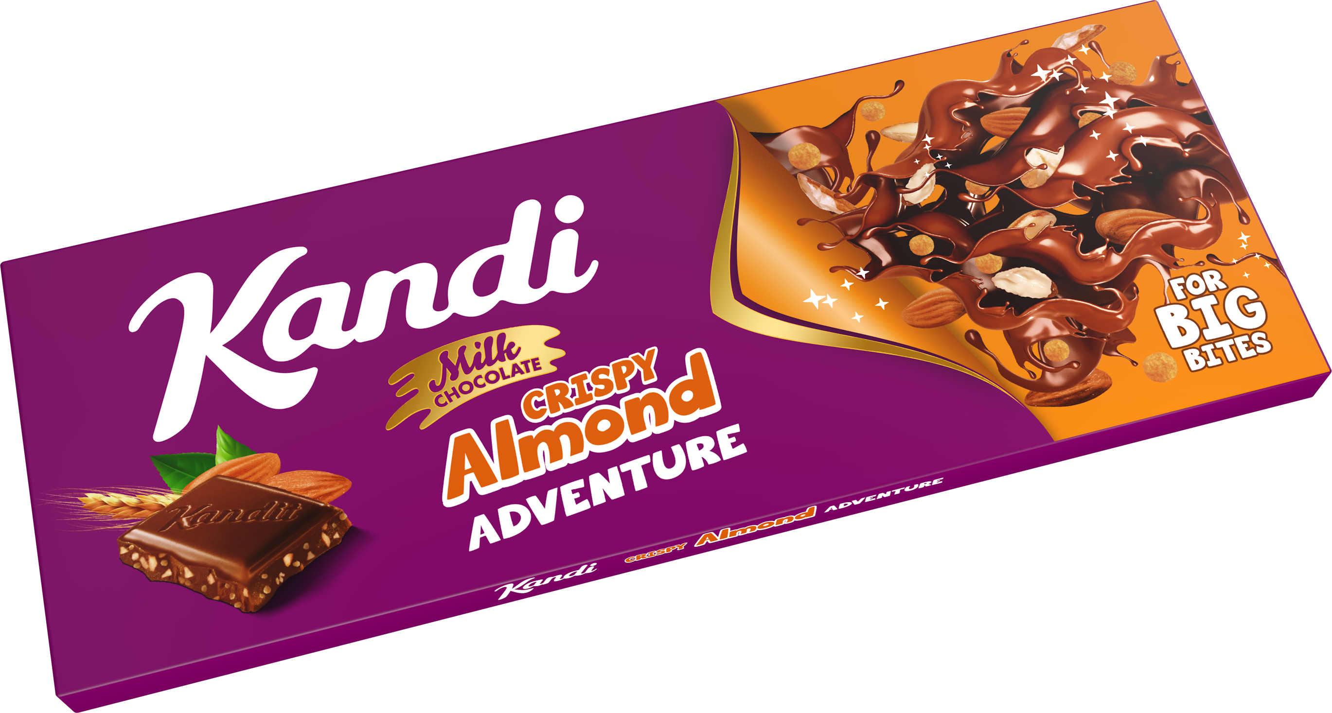 Kandi Crispy Almond Adventure